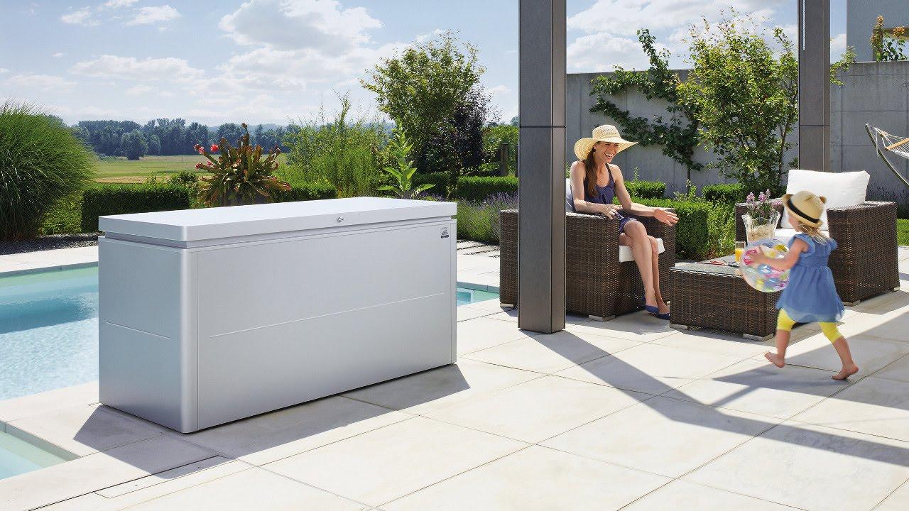 loungekissenbox loungebox von biohort youtube. Black Bedroom Furniture Sets. Home Design Ideas