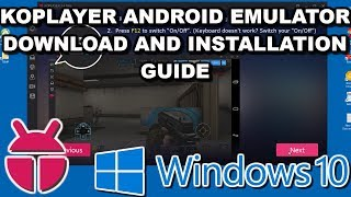 KOPLAYER Android Emulator Download & Installation Tutorial 2018