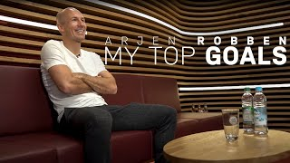 Arjen Robben ranks his Top 10 Goals for FC Bayern!