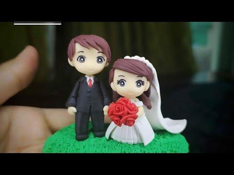 How To Make A Bride Cake Topper ° Wedding Topper