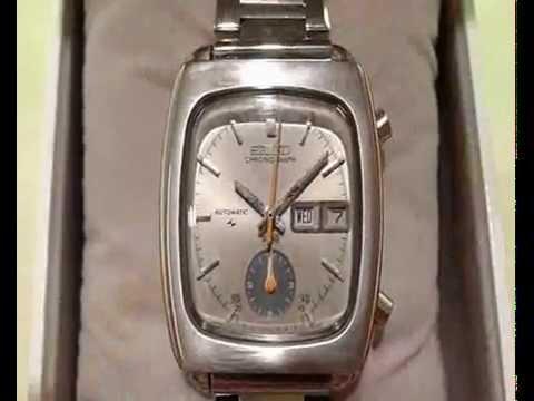 """Vintage SEIKO """"Monaco"""" Flyback Chronograph"""