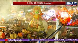 Hyderabad Ganesh Immersion Live: Live Update From Telugu Talli Flyover | Bharat Today