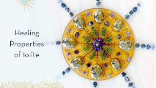 Healing Properties of Iolite: A Crystal for Guidance & Direction