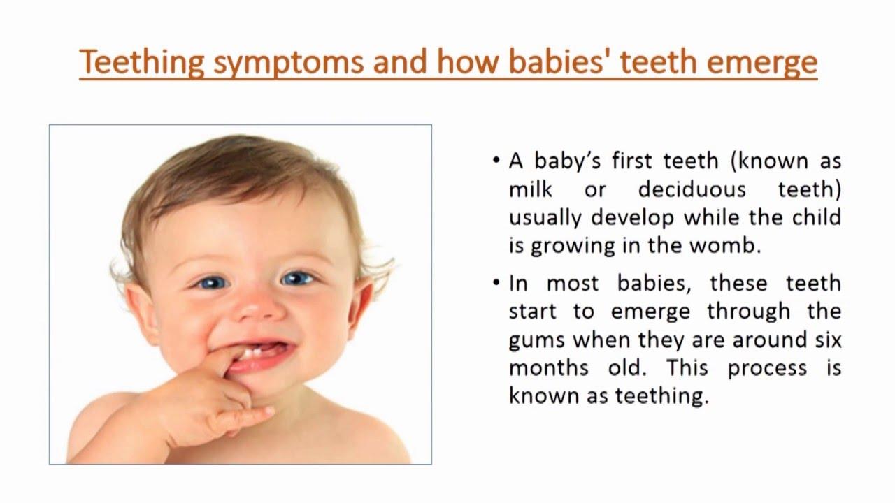 Signs of teething in infants. Teething order in children 11