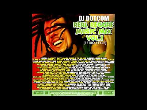 DJ DOTCOM PRESENTS REAL REGGAE MUSIC RETRO STYLE {ULTIMATE COLLECTION}
