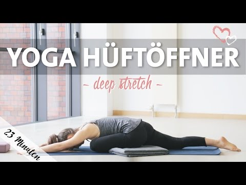 Yoga Hüftöffner Intensive Dehnung | Deep Stretch Routine