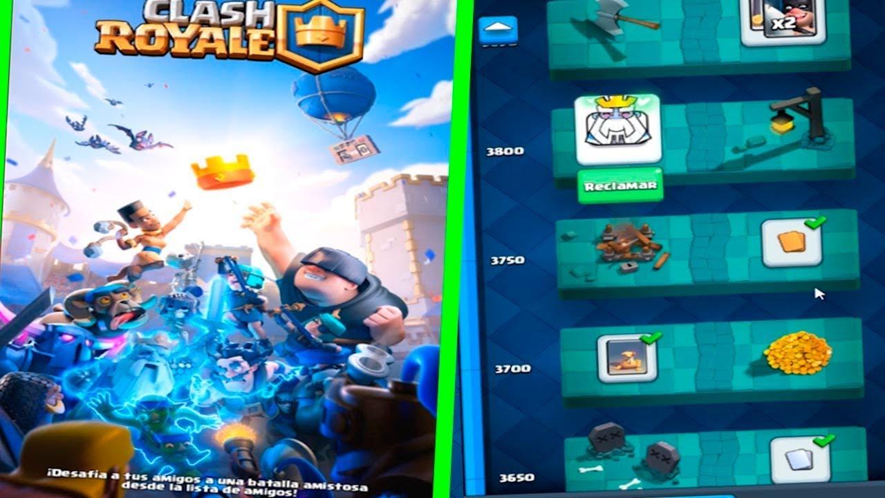 Abro Todos Los Cofres De La Nueva Actualización Clash Royale Youtube