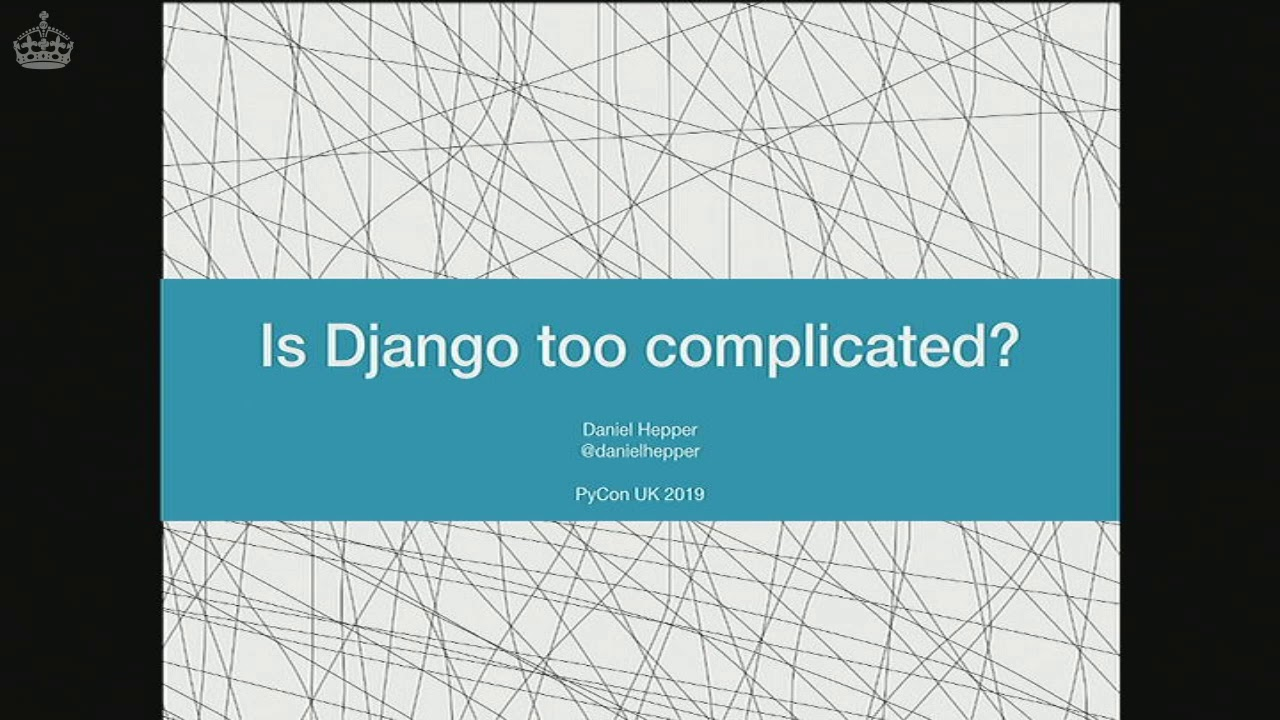 Image from Is Django too Complicated