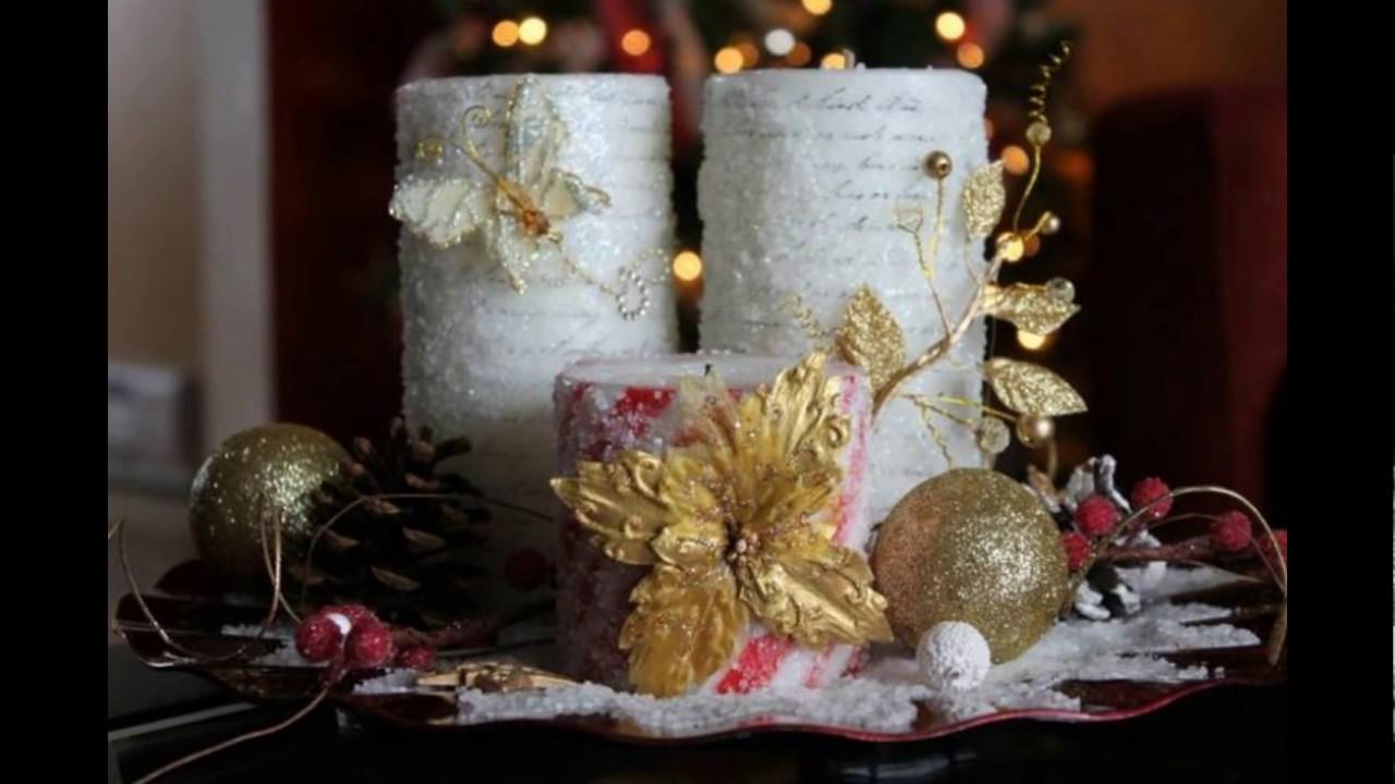 Centros de mesas navide os faciles y hermosos 2016 2017 for Centros navidenos
