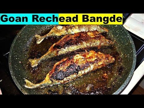 Goan Authentic Recheado Bangde |  Stuffed Mackerel  Goan Fried Fish