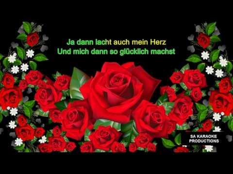 """Karaoke HD """"Rot sind die Rosen"""" (Semino Rossi)"""