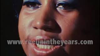 """Aretha Franklin- """"Groovin'/People Get Ready/Since You've Been Gone"""" • 1967  [RITY Archives]"""
