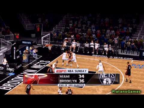 NBA Playoffs - Miami Heat vs Brooklyn Nets - Game 4 - 2nd Half - Live 14 - HD