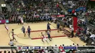 Toronto Raptors Vs Utah Jazz Mar.8/09