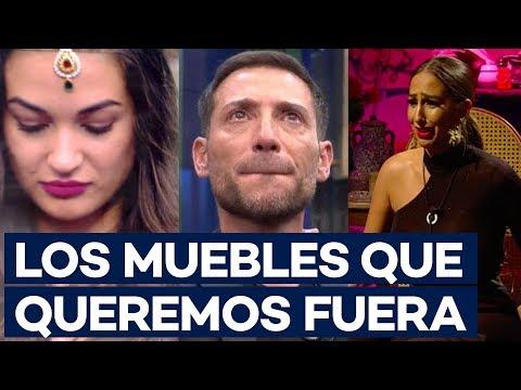 GH VIP: La expulsión de Hugo Castejón provoca una acumulación de 'muebles' en la casa