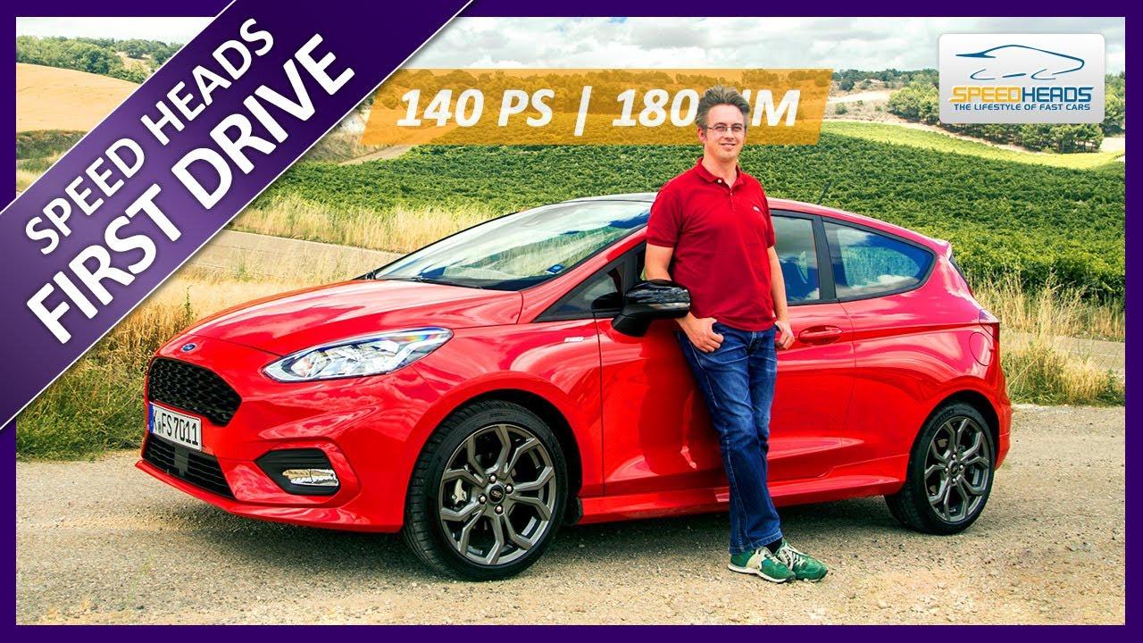 Fiesta St Line 140 >> 2018 Ford Fiesta ST-Line Test (140 PS, MK8) - Fahrbericht - Review - Speed Heads - YouTube