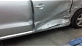 Кузовной ремонт Volkswagen Polo Часть 2(Кузовной ремонт Volkswagen Polo Часть 2 продолжение работы по востановлению машины. Как происходит процесс наплав..., 2016-01-30T18:26:00.000Z)