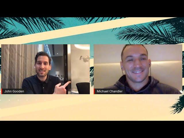 UFC 257 Q&A with Michael Chandler