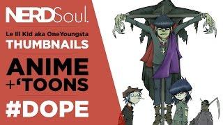 Gorillaz Animated Series in 2018, Samurai Jack XCVIII Review & Class of 3000! Review | NERDSoul