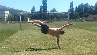 Air twist training