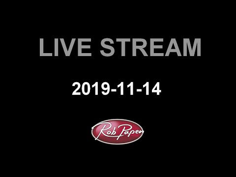Rob Papen Live Stream 14 November Punch-2 in progress