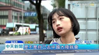 20191231中天新聞 生赴陸交流 談陸影視強 憂遭認反滲透法罰500萬