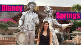 Disney Springs Town Center: Shopping at Sephora and Zara, Plus Dinner at D-Luxe Burger!