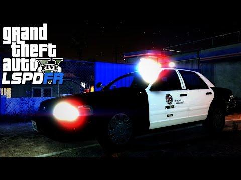 GTA V LSPDFR #75 South-Central Los Angeles Patrol!