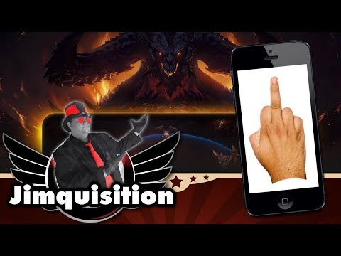 The Diablo Immortal Backlash Fun Parade (The Jimquisition)