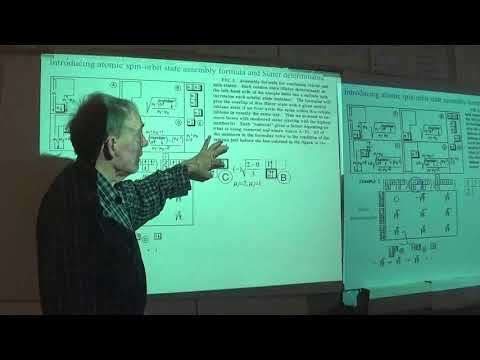 Symmetry Principles for Atomic, Molecular, Optical Physics  (2018 Spring) - Lecture #26