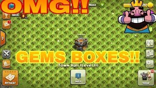 OMG!! So Many Gem Box And Mass Hogs    Clash of Clans Private Server