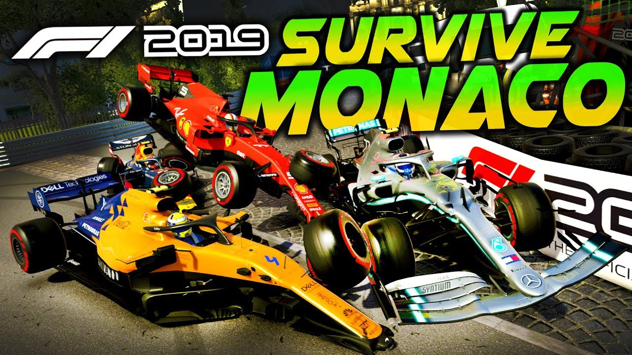 SURVIVE MONACO - F1 2019 Extreme Damage Game Mod