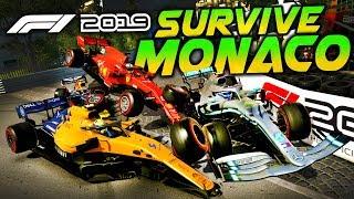 SURVIVE MONACO - F1 2019 Extreme Damage Game Mod