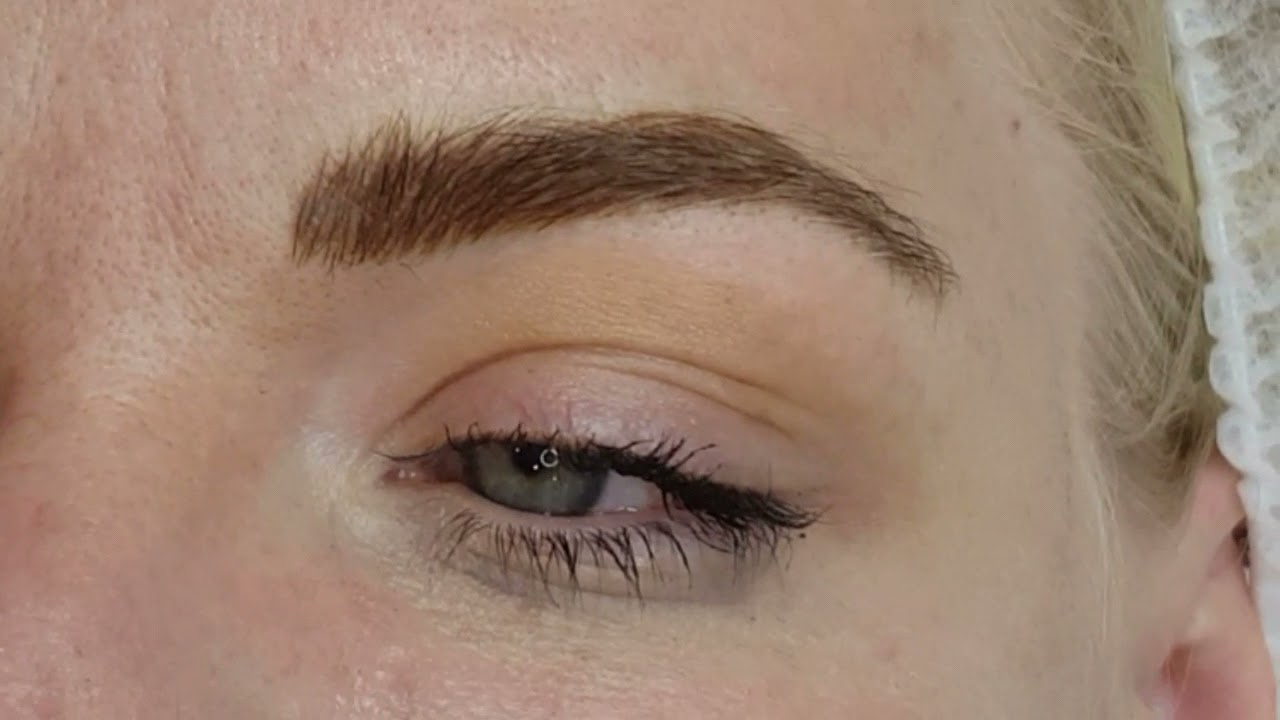 Fluffy Eyebrows Microblading Realism by El Truchan @ Perfect Definition