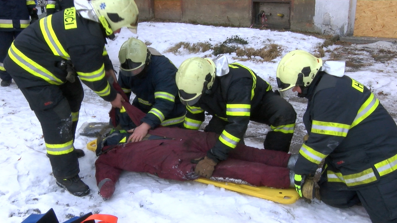 Petrovice u Karviné ► Cvičení jednotky sboru dobrovolných hasičů Petrovice-Závada │ Region