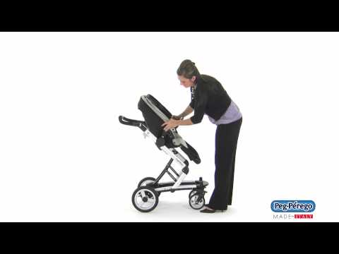 2011 Stroller System - Peg Perego Skate System - How to Recline and Reverse the Seat