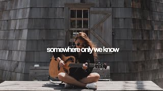 Somewhere Only We Know - Keane (cover) | Reneé Dom