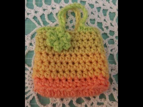 Crochet Purse For American Girl Doll