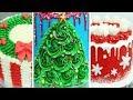 CHRISTMAS Cake Ideas | Amazing Cakes | Buttercream Cakes Decorating