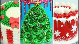 CHRISTMAS Cake Ideas | Amazing Cakes Compilation