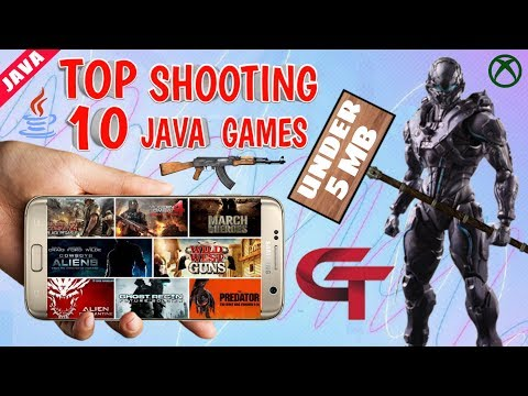 Top 10 Shooting Java Game Download On Android With Download Link By GAMING TECH