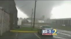 Tornado in den USA zu ungewöhnlicher Zeit