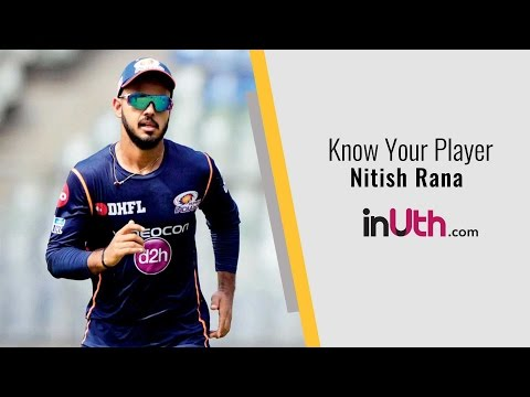 Know your Player: Nitish Rana
