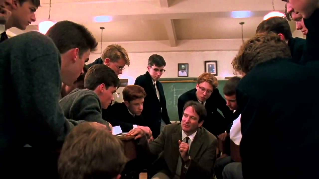 Dead Poets Society Poetry Lecture Youtube