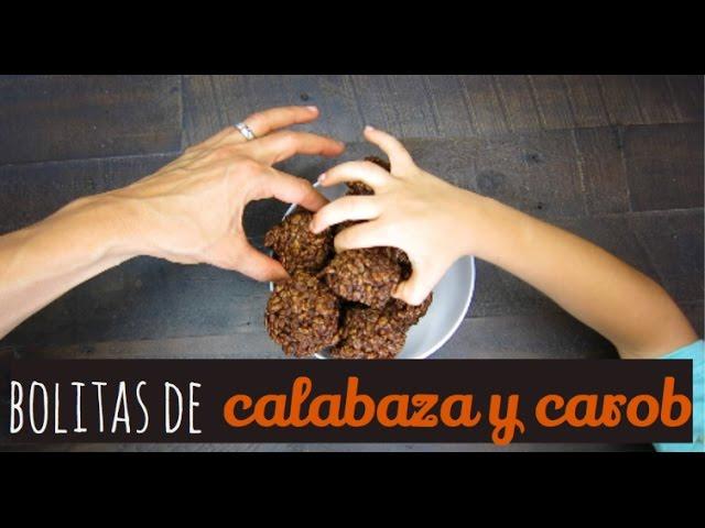 Bolitas de Calabaza y Algarroba