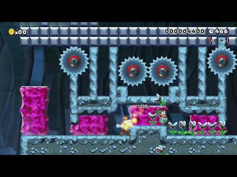 Assault on Zebes by Andrew ~ World Record! - Super Mario Maker - No Commentary