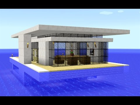 Minecraft - How to build a modern floating house