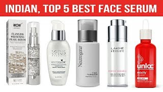 Indian Top 5 Best Face Serum for Glowing Skin 2019 With Price