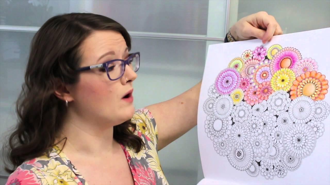 Johanna Basford Coloring Books Calendar