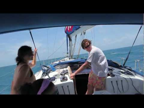 Sailing the Leeward Islands, 2011